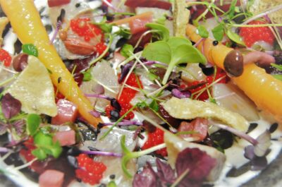 Amaranto-Ensalada de arenque